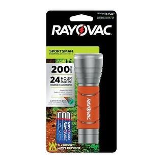 Rayovac SPG3AAA-B Sportsman Essentials LED Flashlights, Orange, 200 Lumens