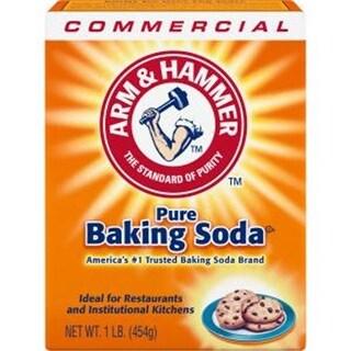 Arm & Hammer CDC3320084104CT Pure Baking Soda, 1 lbs - White