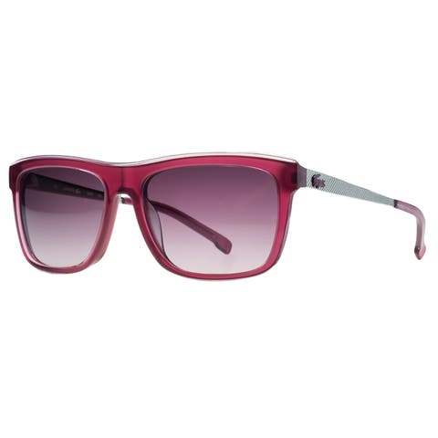 209cbaf76 Lacoste L695 S 615 Red Rectangle Sunglasses - 54-16-140