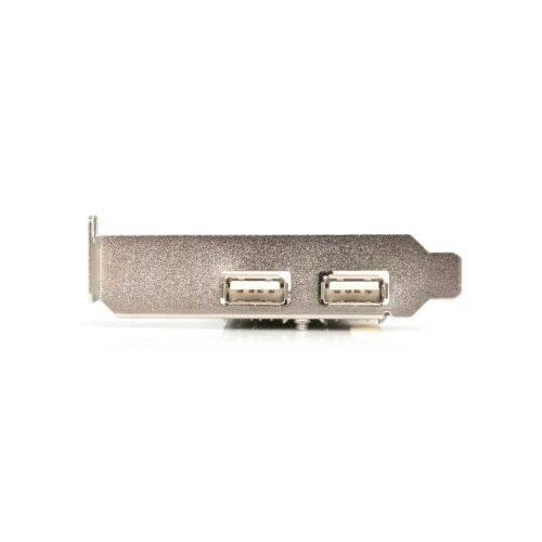StarTech.com 3 Port PCI Low Profile High Speed USB 2.0 Adapter Card PCI220USBLP