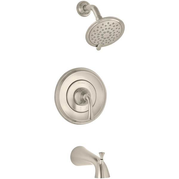 American Standard T106.508 Romantic Shower Trim Kit with Valve Trim, Shower Head, and Tub Spout