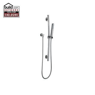 Fortis 8912900 San Marco Single Function Hand Shower Package with Slide Bar, Hos