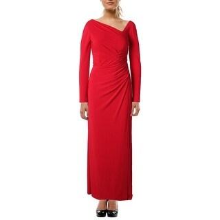 Vera Wang Womens Formal Dress Empire Long Sleeves - 4
