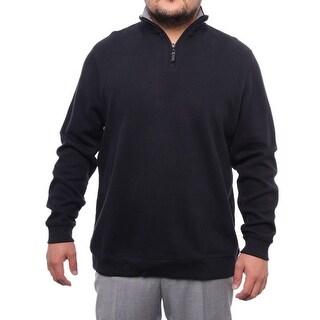 Tasso Elba 1/2 Zip Mock Neck Sweater Men Regular Sweater Top