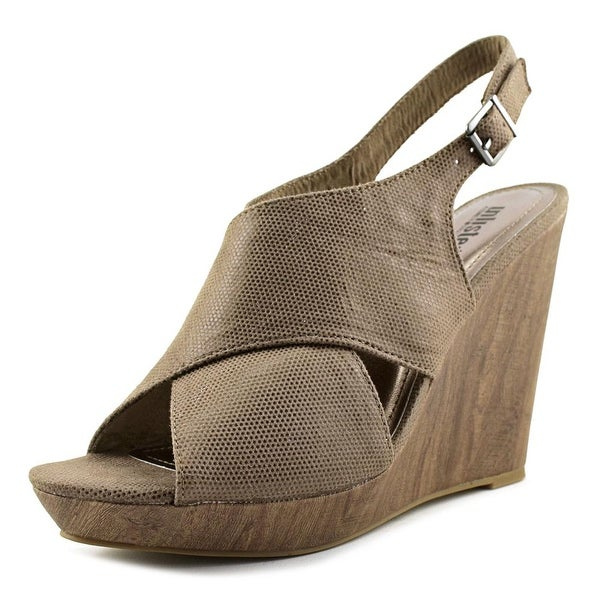 Unlisted Kenneth Cole My First Women Taupe Sandals