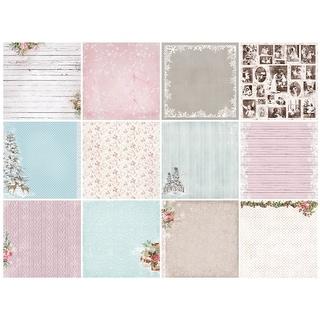 "Scrapberry's Winter Joy Paper Pack 12""X12"" 13/Pkg-13 Designs/1 Each"