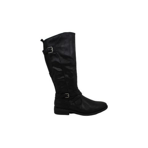 Bare Traps Women's Shoes Alysha Leather Closed Toe Knee High Fashion Boots