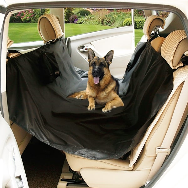 Shop Travel Outside Portable Dog Car Rear Seat Protector