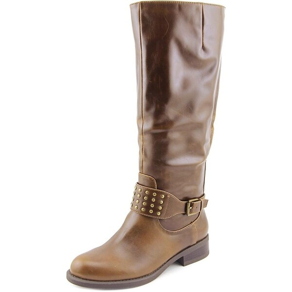 American Living Jaycee Women Round Toe Synthetic Knee High Boot