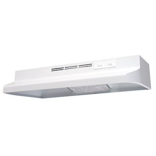"Air King AD121 21"" Under Cabinet Hood with Charcoal Filter, 75W Incandescent Lig"