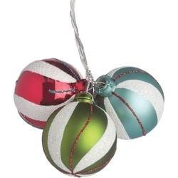 Fun Swirl - 40Mm Ornament X3 Pick