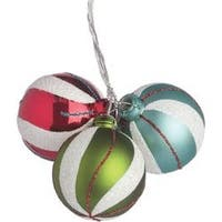 Fun Swirl - 40Mm Ornament X3 Pick