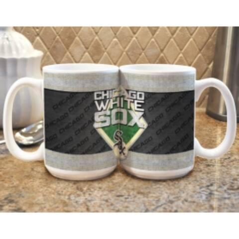 Chicago White Sox Coffee Mug - Felt Style