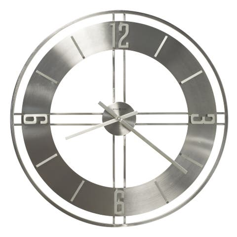 Howard Miller Stapleton Metal Wall Clock