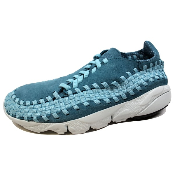 Nike Men's Air Footscape Woven NM Smokey Blue/Smokey Blue 875797-002