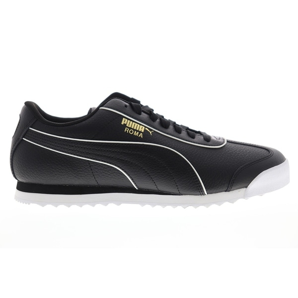 Shop Puma Roma Basic BW Black Mens Low