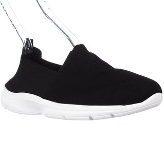 Easy Spirit Quirky Casual Laceless Slip On Sneakers - Black