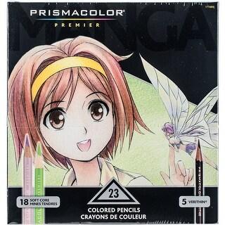 Prismacolor Premier Manga Colored Pencil Set 23/Pkg