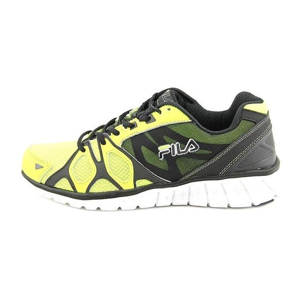 Shop Fila Shadow Sprinter Mens NeoGrnBlkWht Running Shoes