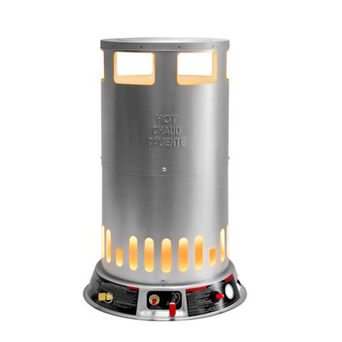 Dyna-Glo RMC-LPC200DG Portable 200,000-BTU Propane Powered Convection Heater with 1-Handed Piezo Ignition, 4,700-Square Foot