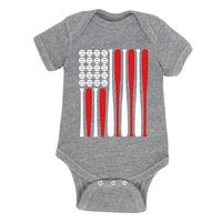 Baseball Flag - Infant One Piece