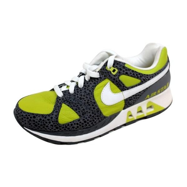 Nike Men's Air Stab Bright Cactus/White-Flint 316402-311