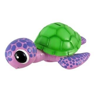 Purple / Green Sea Turtle Piggy Bank Coin Money
