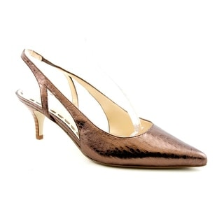 Enzo Angiolini Jumble Women  Pointed Toe Leather  Slingback Heel