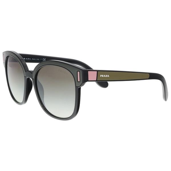 5f035b9f5d4 Shop Prada PR 05US SVK5O0 Black  Brown  Pink Square Sunglasses - 53 ...