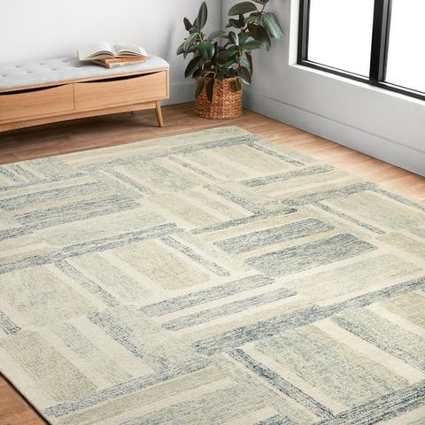 Alexander Home Aubrey Modern Graphic Area Rug