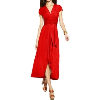MICHAEL Michael Kors Womens Casual Dress Maxi Hi-Low