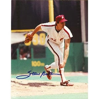 Steve Carlton Philadelphia Phillies Autographed 8x10 Photo This item comes with a certificate of au