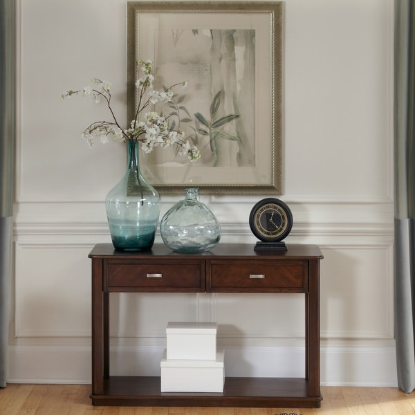 Wallace Dark Toffee Sofa Table. Opens flyout.