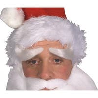 Deluxe Santa Claus Eyebrows Adult Costume Accessory