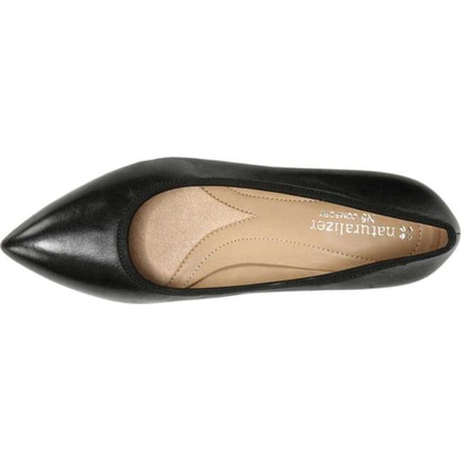 Oden Pump Black Leather