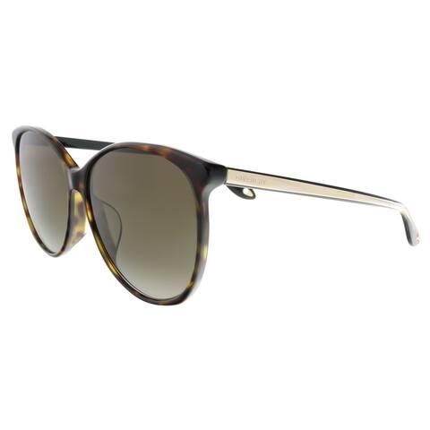 Givenchy GV 7098/F/S 86 Havana Oval Sunglasses - 58-16-145