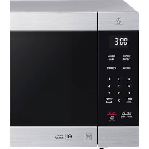 LG LMC2075ST NeoChef 2.0 Cu. Ft. Countertop Microwave in Stainless Steel