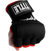 Title Boxing Attack Nitro Speed Training Glove Wraps - Black