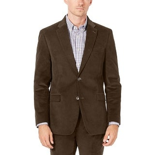 Link to Tommy Hilfiger Mens Colby Modern-Fit Corduroy Sportcoat 40 Short Dark Khaki Similar Items in Sportcoats & Blazers