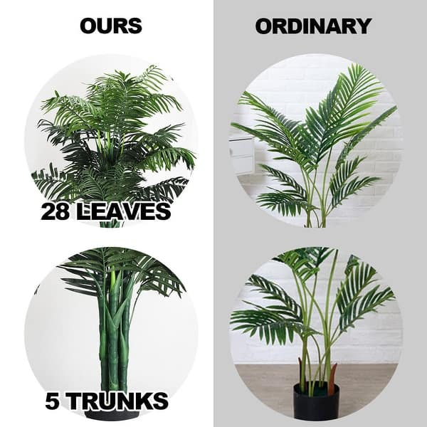 Costway 3 5 4 5 5 5 6 Artificial Tree Indoor Outdoor Home On Sale Overstock 28181475