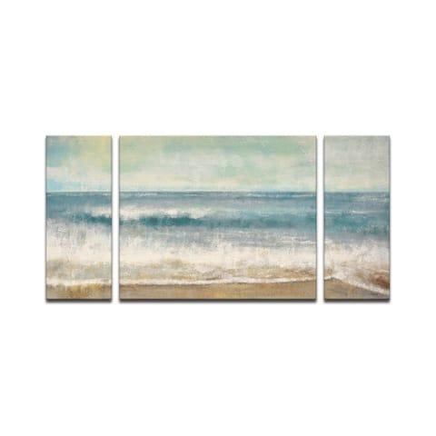 'Beach Memories' Wrapped Canvas Wall Art Set by Norman Wyatt Jr.