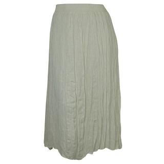 INC International Concepts Women's Linen Maxi Skirt