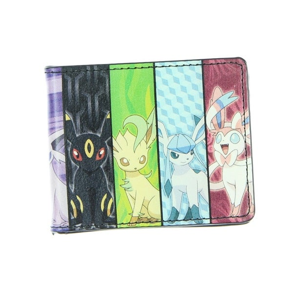 Pokemon Eevee Evolution Bi-Fold Wallet - One Size Fits most