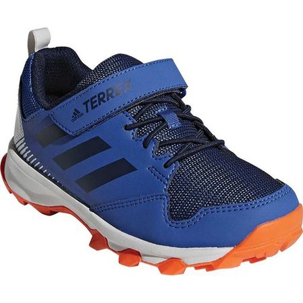 969ebf60d54 adidas Children  x27 s Terrex Tracerocker Cloudfoam Hiking Shoe Real  Teal Collegiate Navy