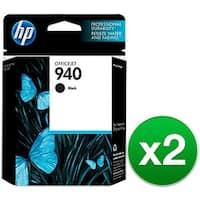 HP 940 Black Original Ink Cartridge (C4902AN) (2-Pack)