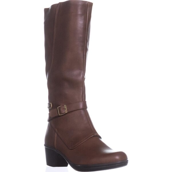 Easy Street Jan Harness Boots, Tan/Gore - 10 us