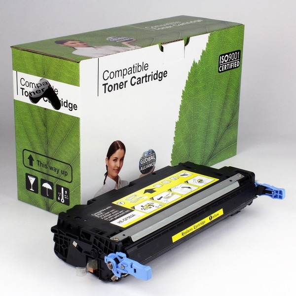 Value Brand replacement for HP 503A Yellow Toner Q7582A (6,000 Yield)