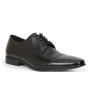 Giorgio Brutini Mens Cap Toe Oxford, Black