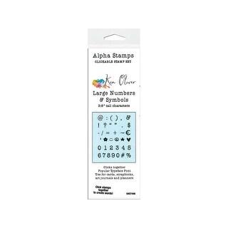 Kn07496 contact crafts koliver clickable stamp lg num sym