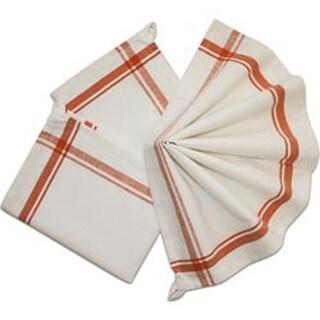 "Orange Stripe - Stitch 'Em Up Retro Stripe Towels 18""X28"" 3/Pkg"